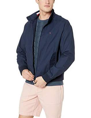 Tommy Hilfiger Men's Adaptive Bomber Jacket with Magnetic Zipper