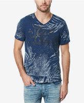 Buffalo David Bitton Men's Tancor Graphic-Print V-Neck Cotton T-Shirt