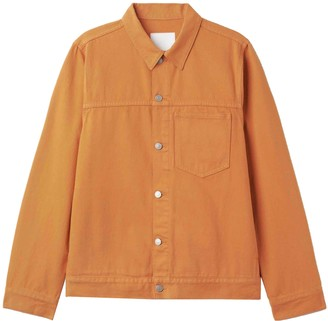 Weekday Orange Denim - Jeans Jacket for Women