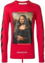 Off-White diag Mona Lisa long sleeve T-shirt