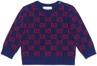 Gucci Baby GG wool sweater