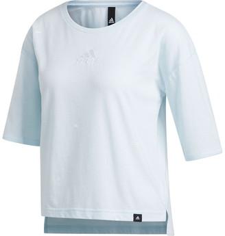 adidas Geo High/Low T-Shirt