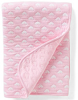Starting Out Baby Girls Elephant Print Double Knit Blanket