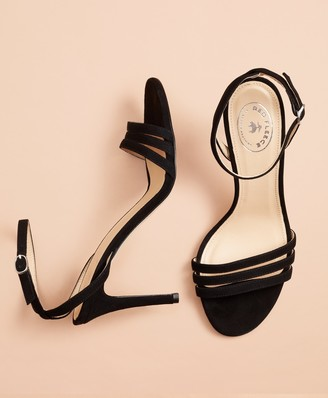 Brooks Brothers Suede Stiletto Sandals