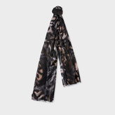 Paul Smith Women's 'Tiger Collage' Photoprint Scarf