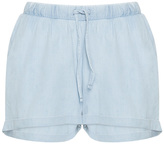 Junarose Plus Size Drawstring denim shorts