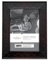 "Threshold 5""x7"" Rubbed Bronze Frame Black"