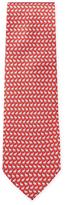 Salvatore Ferragamo Rhino Printed Tie