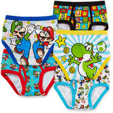 LICENSED PROPERTIES 5-pk. Super Mario Brothers Briefs - Boys 4-8