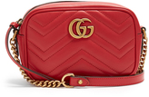 Gucci GG Marmont mini quilted-leather shoulder bag