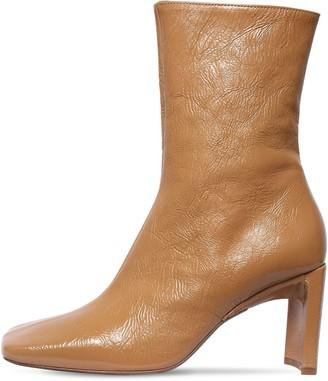 Miista 80mm Ekatarina Crackled Leather Boots