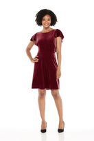 Maggy London Phoebe Full Skirt - Wine