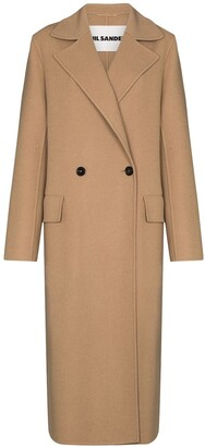 Jil Sander Newman double-breasted coat