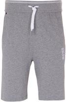 Boss Grey Marl Cotton Jersey Shorts