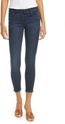 Frame Le Skinny de Jeanne Crop Skinny Jeans