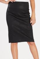 Level 99 Coated Sateen Skirt