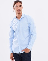 Brooksfield Luxe Plain Shirt