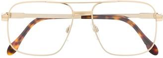 Cazal oversized glasses