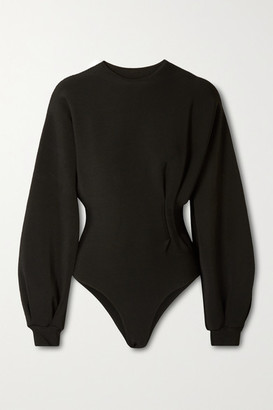 Haight Stretch-knit Bodysuit - Black