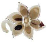 Murano Glass Flower Sculpture