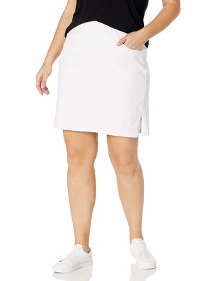 Jag Jeans Women's Plus Size On The Go Pull On Skort