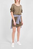 Current/Elliott Ruffle Roadie Dress