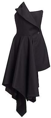 Monse Women's Corset Handkerchief Hem Dress