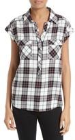 Soft Joie Women's Johnesha Plaid Popover Shirt