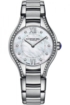 Raymond Weil Ladies Noemia 24mm Diamond Watch 5124-STS-00985