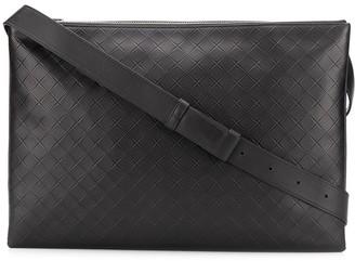 Bottega Veneta Intrecciato Woven Messenger Bag