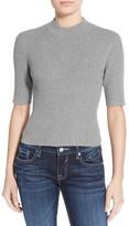 BP Short Sleeve Rib Knit Pullover