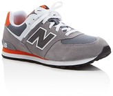 New Balance Boys' 574 Core Plus Lace Up Sneakers - Toddler, Little Kid