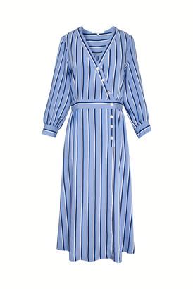 Gerard Darel Sandy - Striped Midi Dress