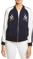 Cupcakes And Cashmere Birch Reversible Bomber Jacket