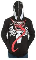 Marvel Venom Full Zip Mask Hoodie Medium