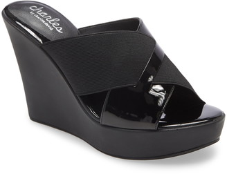 Charles by Charles David Prevent Wedge Slide Sandal
