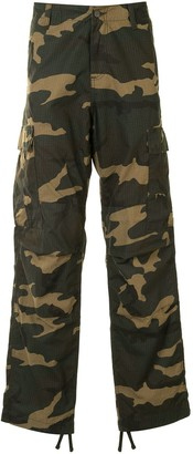 Carhartt Wip Camouflage Cargo Trousers