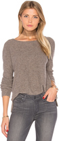 James Perse Cashmere Crop Sweater