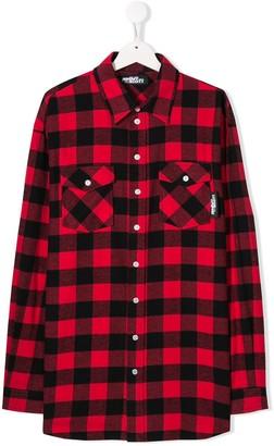 Jeremy Scott Junior Checked Shirt