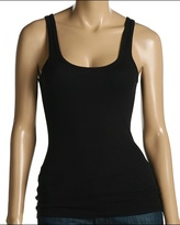 7 For All Mankind - Long Scoop Tank (Black)
