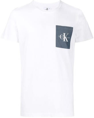 Calvin Klein Jeans pocket logo T-shirt