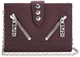 Kenzo Women's Kalifornia Wallet on a Chain Crossbody Bag Bordeaux