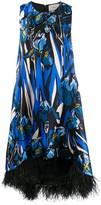 Thumbnail for your product : La DoubleJ La Scala feather-detail dress
