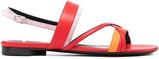 Pierre Hardy Open-Toe Leather Sandals