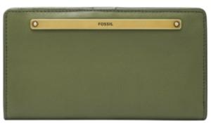 Fossil Women's Liza Slim Leather Bifold Wallet
