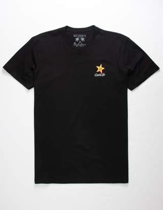 Riot Society x Carl's Jr. Star Embroidery Mens T-Shirt