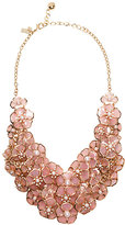 Kate Spade Sunset blossoms statement necklace