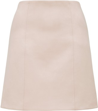 Ever New Scarlette Seamed Suedette Mini Skirt