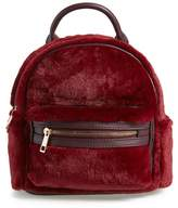 Street Level Faux Fur Backpack