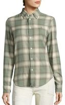 Polo Ralph Lauren Cotton Flannel Plaid Shirt